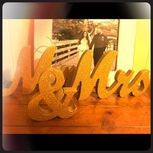 Other - MR & MRS SIGN